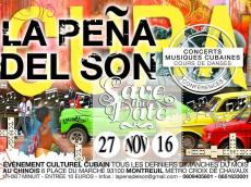 Anoyvega y ashe à la Peña del Son le dimanche 27 novembre 2016, 93100 Montreuil