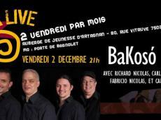 BaKosó 4tet Concert Son cubain le vendredi 2 décembre 2016, 75020 Paris