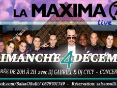 La Maxima 79 Concert Salsa le dimanche 4 décembre 2016, 75018 Paris