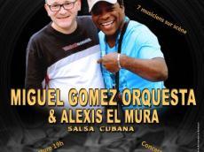Miguel Gomez Orquesta et Alexis Mura Concert Salsa le samedi 10 décembre 2016, 75011 Paris