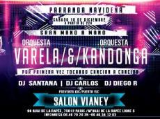 Orquesta Varela & Orquesta Kandonga Concert Salsa colombienne le samedi 10 décembre 2016, 75012 Paris