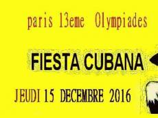 Juan Ricardo Concert Son cubain le jeudi 15 décembre 2016, 75013 Paris