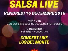 Los del Monte Concert Son cubain le vendredi 16 décembre 2016, 75011 Paris