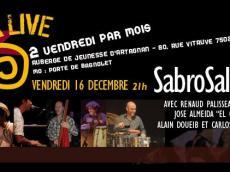 Sabrosalsa 5to Concert Salsa le vendredi 16 décembre 2016, 75020 Paris