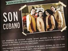 Tentacion de Cuba Concert Son cubain le vendredi 23 décembre 2016, 75014 Paris