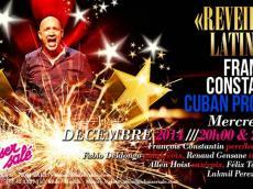 François Constantin cuban project Concert salsa cubaine (22h30) le samedi 31 décembre 2016, 75001 Paris