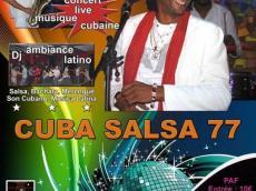 Concert Live Musique cubaine le samedi 14 janvier 2017, 77130 Montreau