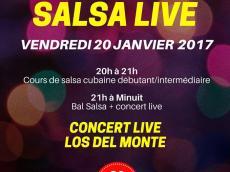 Los del Monte Concert Son cubain le vendredi 20 janvier 2017, 75011 Paris