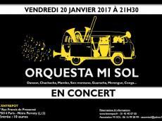 Orquesta Mi Sol Concert Salsa le vendredi 20 janvier 2017, 75014 Paris