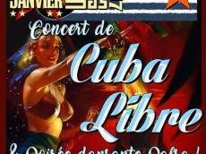 Cuba Libre Grupo Concert Salsa le samedi 21 janvier 2017, 92350 Le Plessis-Robinson