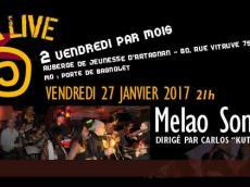 Melao Son Concert Salsa le vendredi 27 janvier 2017, 75020 Paris