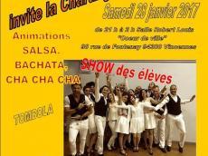 Cencerro Concert Salsa le samedi 28 janvier 2017, 94300 Vincennes