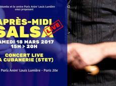 La Cubanerie Après-midi salsa live le samedi 28 janvier 2017, 75020 Paris