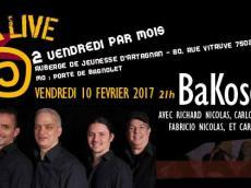 BaKosó 4tet Concert Son cubain le vendredi 10 février 2017, 75020 Paris