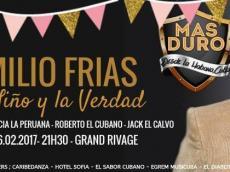 Emilio Frias Concert Salsa le jeudi 16 février 2017, 75010 Paris
