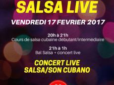 Barrio Luna Concert Son cubain le vendredi 17 février 2017, 75011 Paris