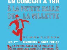 Rumbabierta Concert Rumba le dimanche 19 février 2017, 75019 Paris