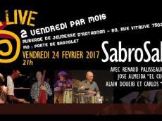 Sabrosalsa 5to Concert Salsa le vendredi 24 février 2017, 75020 Paris