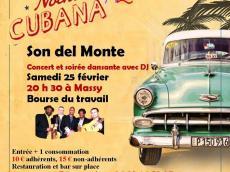 Son del Monte Concert Son cubain le samedi 25 février 2017, 91300 Massy