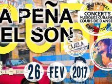Son del Salón Concert Son cubain le dimanche 26 février 2017, 93100 Montreuil