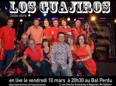 Los Guajiros Concert Salsa le vendredi 10 mars 2017, 93170 Bagnolet