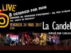 La Candela Siempre Concert Salsa le vendredi 24 mars 2017, 75020 Paris