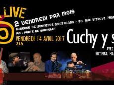 Cuchy y sus Panas Concert Salsa le vendredi 14 avril 2017, 75020 Paris