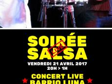 Barrio Luna Concert Son cubain le vendredi 21 avril 2017, 75011 Paris