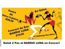 Barrio Luna Concert Son cubain le vendredi 28 avril 2017, 94800 Villejuif