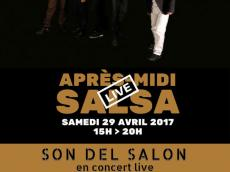 Son del Salón Concert Son cubain le samedi 29 avril 2017, 75020 Paris