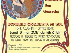 Orquesta Mi Sol Bal Salsa le lundi 8 mai 2017, 5014 Paris