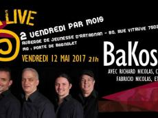 BaKosó 4to Concert Son cubain le vendredi 12 mai 2017, 75020 Paris