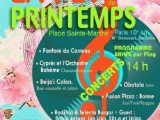 Groupe Obatala Concert Salsa le dimanche 14 mai 2017, 75010 Paris