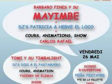 Barbaro Fines y su Mayimbe Concert Salsa le vendredi 26 mai 2017, 94410 Saint-Maurice