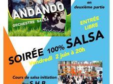 Andando Concert Salsa le vendredi 2 juin 2017, 75014 Paris