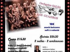 Los Guajiros Concert Salsa le samedi 10 juin 2017, 77400 Saint-Thibault-des-Vignes