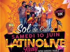 Sol de Cuba Concert Salsa le samedi 10 juin 2017, 77630 Barbizon