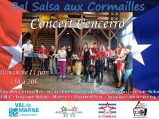Cencerro Concert Salsa le dimanche 11 juin 2017, 94200 Ivry-sur-Seine