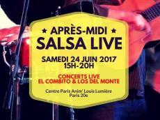 El Combito et Los del Monte Concert Salsa et Son cubain le samedi 24 juin 2017, 75020 Paris