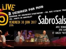 SabroSalsa 5to Concert Salsa le vendredi 30 juin 2017, 75020 Paris
