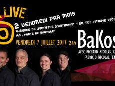 BaKosó 4to Concert Son cubain le vendredi 7 juillet 2017, 75020 Paris