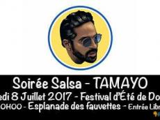 Tamayo et son Band Concert Salsa le samedi 8 juillet 2017, 95330 Domont
