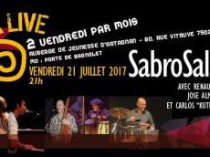 Sabrosalsa 5to Concert Salsa le vendredi 21 juillet 2017, 75020 Paris