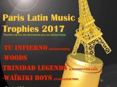 Tu Infierno, Woods Trinidad Legends, Waïkiki boys Concert Salsa le mercredi 27 septembre 2017, 75010 Paris