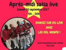 Los del Monte Concert Son cubain le samedi 30 septembre 2017, 75020 Paris