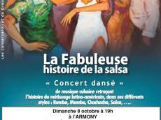 Concert dansé de musique cubaine Concert Salsa le dimanche 8 octobre 2017, 93100 Montreuil