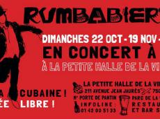 Rumbabierta Concert Rumba le dimanche 19 novembre 2017, 75019 Paris