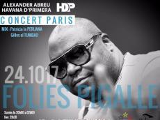 Alexander Abreu y Havana D'Primera Concert Salsa le mardi 24 octobre 2017, 75009 Paris