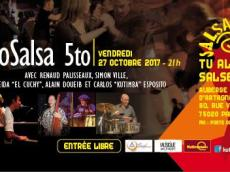 Sabrosalsa 5to Concert Salsa le vendredi 27 octobre 2017, 75020 Paris