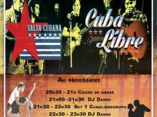 Cuba Libre Concert Salsa le vendredi 10 novembre 2017, 75002 Paris